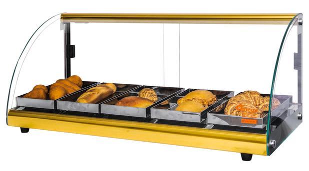 11487147b47 Estufa Alfa Luxo de 5 bandejas Dourado Omega - Bcd industria ...