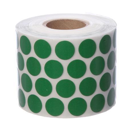 Imagem de Etiqueta Adesiva Bolinha para Identificação Verde de Ø12mm Coringa