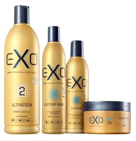 fbc86b837 EXO HAIR Exoplastia alisamento selante 500 ml + KIT de manunteçao Pós  Progressiva Exotrat Nano