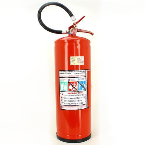 cce8c17817005 Extintor de Incêndio Agua - Classe A - 10 Litros + 1 Placa Sinalizadora  Grátis - Resil