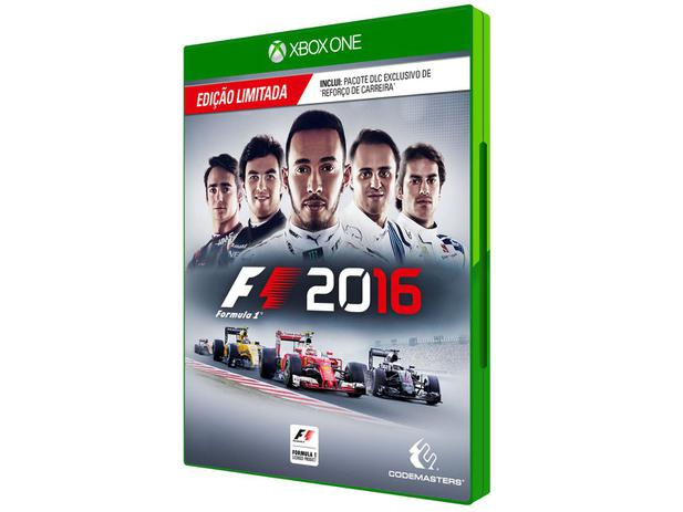 f1 2016 para xbox one codemasters jogos de xbox one magazine luiza. Black Bedroom Furniture Sets. Home Design Ideas