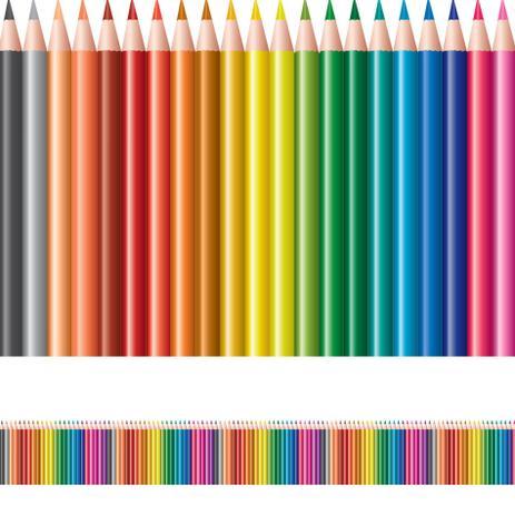 Imagem de Faixa de Parede Infantil Lapis de Cor 5mx10cm