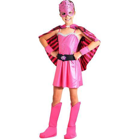 Imagem de Fantasia barbie super princesa luxo