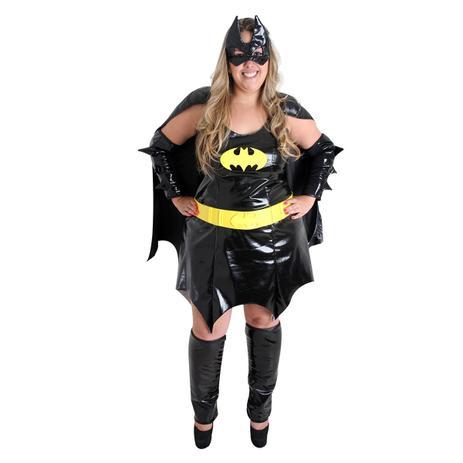 f1b37659c9 Fantasia Batgirl - Plus Size - Liga da justiça - Fantasias ...