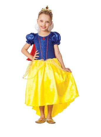 367540af0a05bd Fantasia Branca de Neve Infantil Luxo Tiara e Capa - Fantasias super