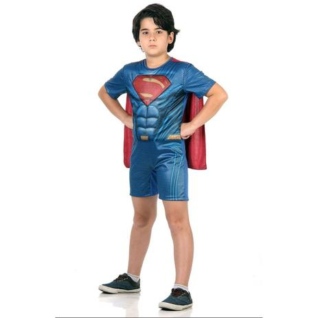 f7f2f2511 Fantasia Curta Super Homem tamanho M Sulamericana 10893 - Superman ...