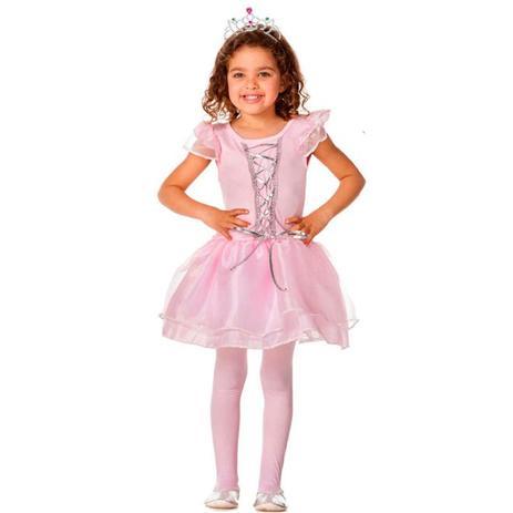 f86f28648c Fantasia de Bailarina Infantil Com Coroa - Fantasias carol fsp ...