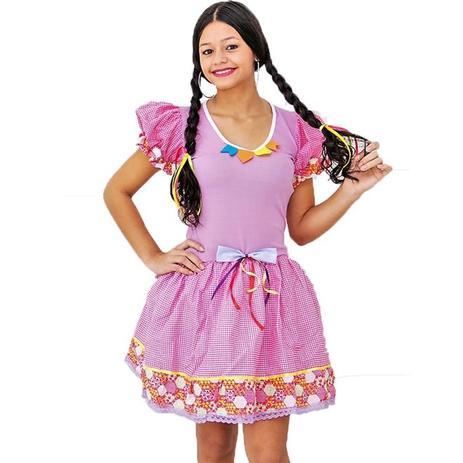 615869e52 Menor preço em Fantasia de Festa Junina Adulto Feminino Vestido Caipira  Mariazinha - Fantasias carol he