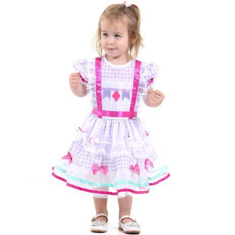 42e4e6fd53 Fantasia de Festa Junina Bebê Vestido Caipira Baby - Sulamericana ...