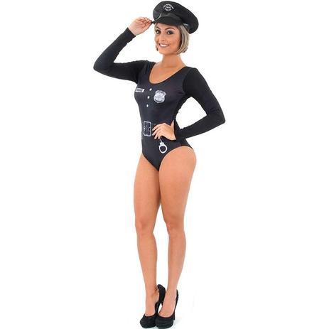 254d5077a Fantasia de Policial Feminina Body Profissões - Sulamericana ...