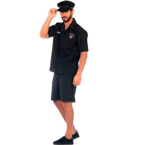 Fantasia de Policial Verão Adulto Com Quepe - Sulamericana ... 7cdbccf4a70