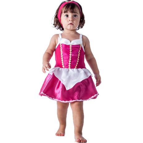 eee452979 Fantasia de Princesa Aurora Bebe Com Faixa 3 a 18 meses - Fantasias carol  fsp