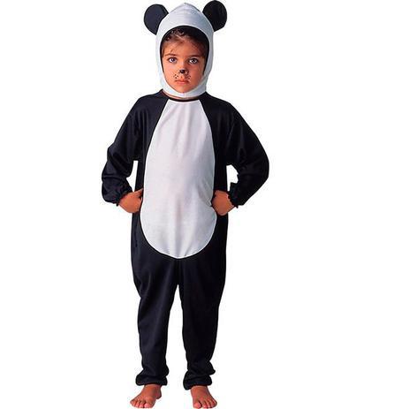 Fantasia De Urso Panda Infantil Animais Completa Com Touca Sulamericana Fantasias Para Criancas Magazine Luiza