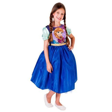 6a11d39f9de743 Fantasia Frozen - Princesa Anna - Standard - Infantil - Rubies