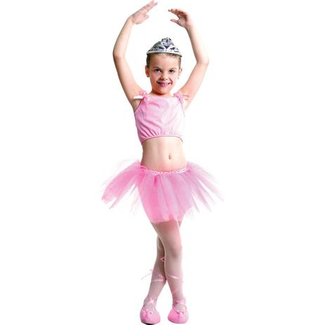 46130f3ee0 Fantasia Infantil Bailarina Verão - Carnaval - Fantasia Infantil ...