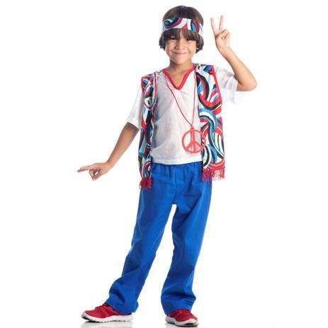 c27f0dce1 Fantasia Infantil Hippie Masculino - Hippies - Fantasia Infantil ...