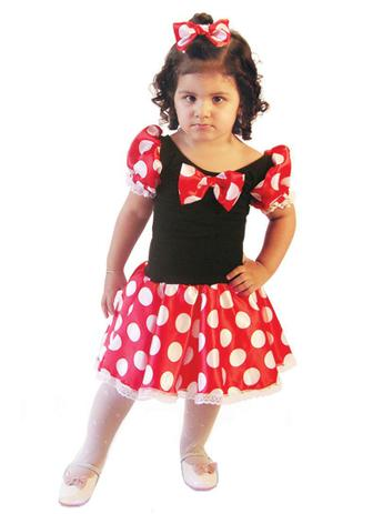 Fantasia Infantil Minnie Baby Brink Model Fantasias Para