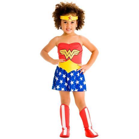 f10073869 Fantasia infantil mulher maravilha tam. g sulamericana - Fantasia ...