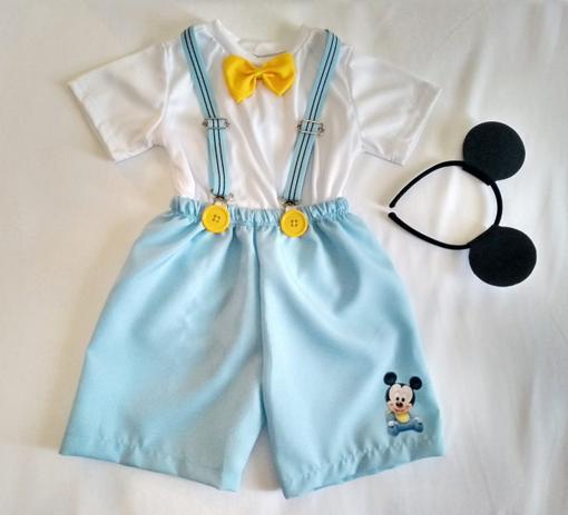 00d6173a077808 Fantasia Mickey Baby Infantil