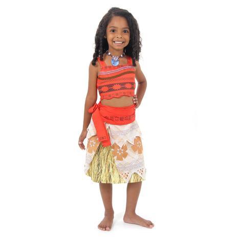 490016f0a5 Fantasia Moana Infantil Disney - Um Mar de Aventuras - Moana - disney