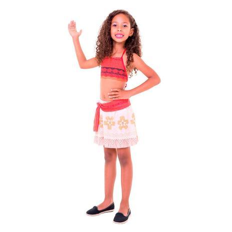 c90b98a24 Fantasia Moana Pop M - Rubies - Fantasia Infantil - Magazine Luiza