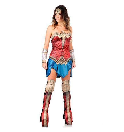 b7f7b248d2 Fantasia Mulher Maravilha Adulto Batman vs Superman - Sulamericana ...