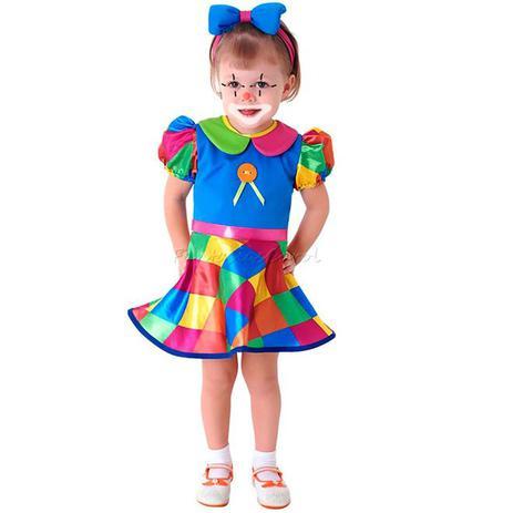 9f7541eae5691 Fantasia Palhacinha(Baby) Sulamericana Carnaval Original - Fantasia ...