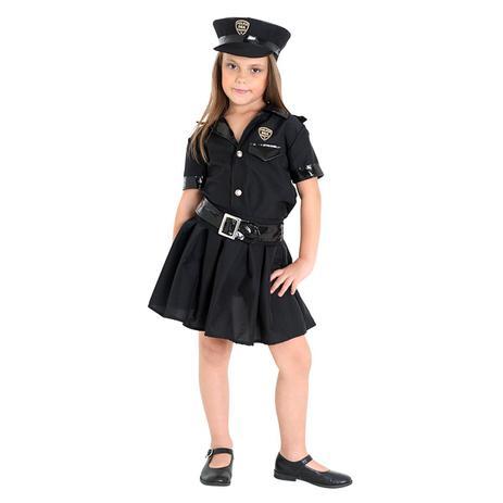d7a5124a2 Fantasia Policial Infantil Feminino - Police - Fantasia Infantil ...