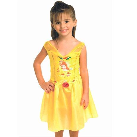 64302aa164 Fantasia Princesa Bela e a fera Clássica Rubies - Fantasia Infantil ...