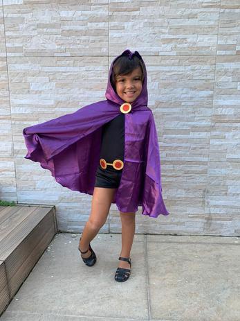 Imagem de Fantasia Ravena Infantil