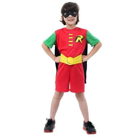 edcdad9c1 Fantasia Robin Infantil Classica Curta Batman - Sulamericana ...