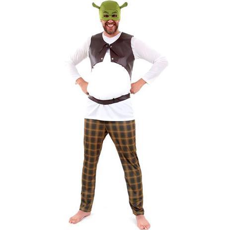 efdddcec2bf056 Menor preço em Fantasia Shrek Adulto Com Luxo Completo - Sulamericana