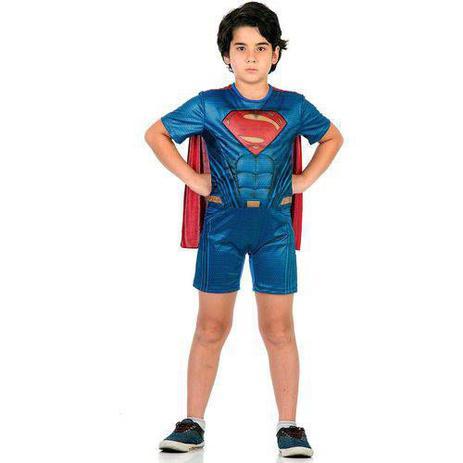 Imagem de Fantasia Super Homem Curto Com Musculatura P 10891 - Sulamericana
