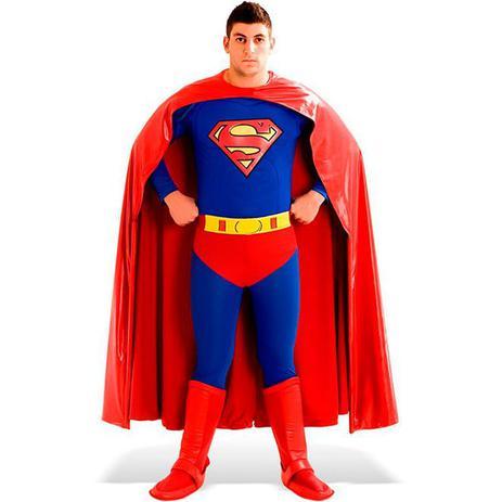 9778f40ec Fantasia Super Homem   Superman Adulto Super Luxo - Sulamericana ...
