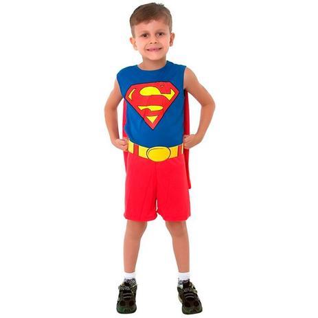 643637e0e Fantasia Super Homem   SuperMan Infantil Regata - Sulamericana ...