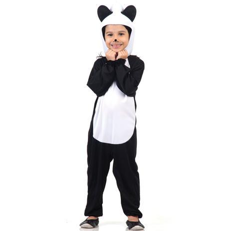 63fd3ce07087f4 Fantasia Urso Panda Infantil - Arca de noé