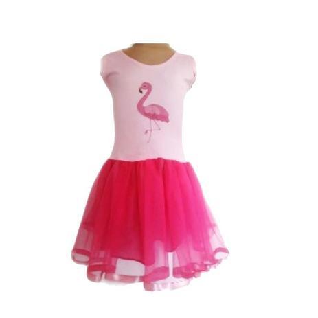 Fantasia Vestido Flamingo G Brink Model Fantasias Para Criancas Magazine Luiza