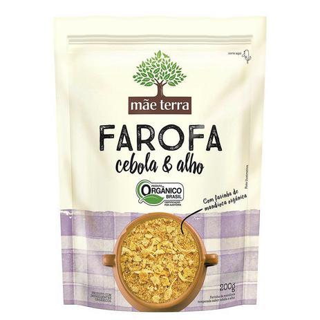 Imagem de Farofa Orgânica Cebola & Alho 200G Mãe Terra