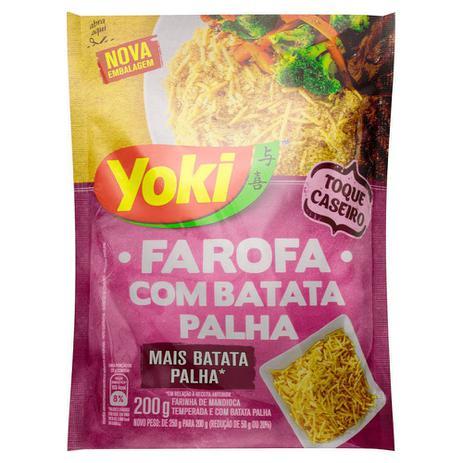 Imagem de Farofa Yoki com Batata Palha 200g