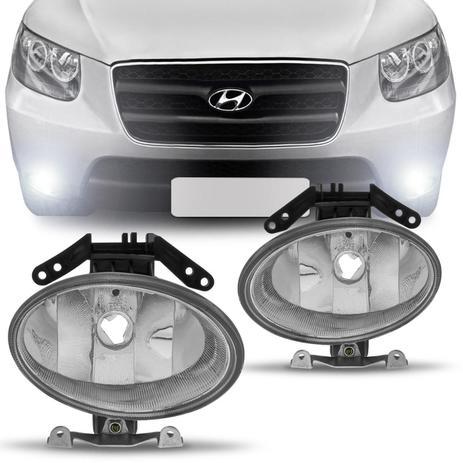 Farol De Milha Hyundai Santa Fé 06 07 08 09 10 Similar Ao Original   Prime