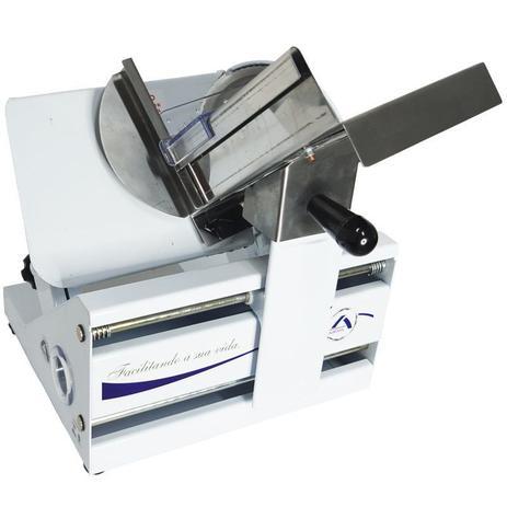 Imagem de Fatiador Cortador Frios Elétrico Lâmina Inox 170mm Ajuste Espessura 220V Arbel 178 MC 3.0 Branco