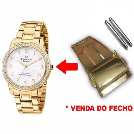 41219374993 Fecho Tranca Dourado Compatível com Relógio Champion CN28679H 22mm -  Oficina dos relógios