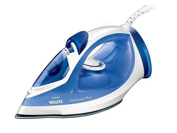 Ferro a Vapor Philips Walita EasySpeed Plus RI2047 - Azul e Branco - 220V