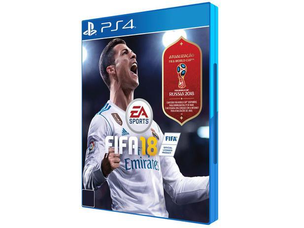 Imagem de FIFA 18 para PS4