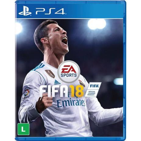 Imagem de FIFA 18 PS4 Mídia Física Lacrada em Português
