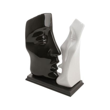 Imagem de Figurino De Casal 29,5cm Black And White De Ceramica