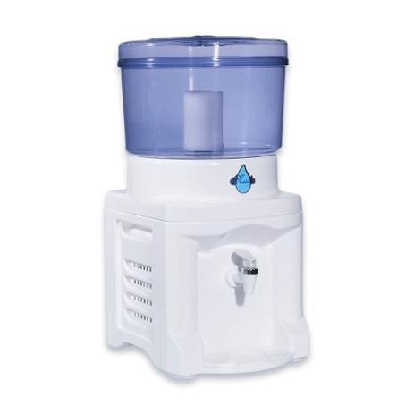 Imagem de Filtro Água Branco 8,6 Litros + 1 Vela + Cuba Cerâmica