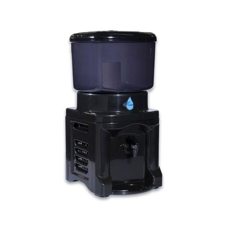 Imagem de Filtro Água Preto 8,6 Litros 1 Vela 1 Boia Cuba de Cerâmica