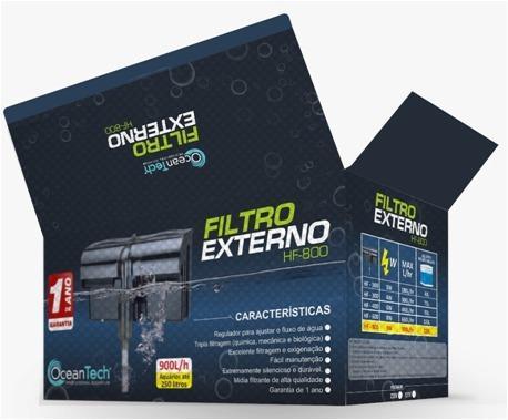Imagem de Filtro Externo Hang On para Aquário Ocean Tech HF-800 900L/h