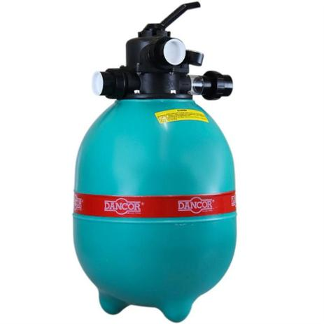 Imagem de Filtro para Piscina DFR-11 p/ Bomba 1/4 CV - Filtra Até 17.000 Litros de Àgua DANCOR